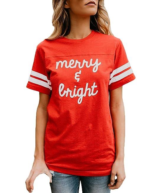 Targogo Camisetas Mujer Manga Corta Verano Basicas Tops Casual Cuello Redondo Carta Impresión T-Shirt Joven Moda Hippies Blusas Moda 2018: Amazon.es: Ropa y ...