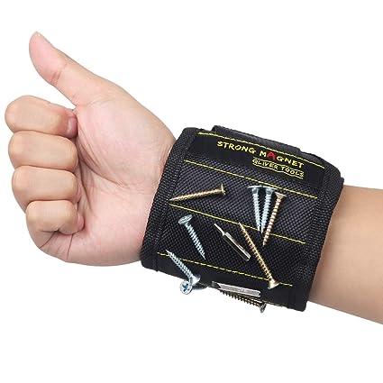 Qliver Wristband magnético con los imanes fuertes para los tornillos ...