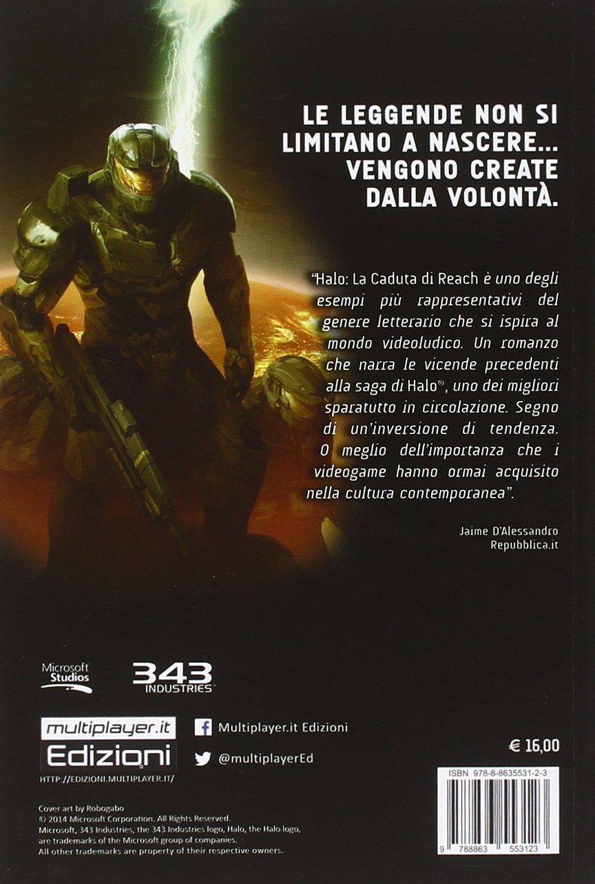 Halo La Caduta Di Reach Ebook Ita