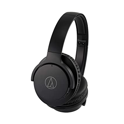 aaacda201a0 Amazon.com: Audio-Technica ATH-ANC500BTBK QuietPoint Wireless Active Noise-Cancelling  Headphones, Black: Electronics