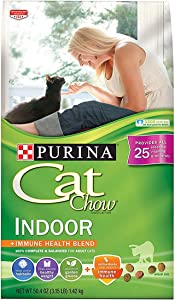 Purina Cat Chow Indoor Dry Cat Food - 3.15 lbs - 2 Bags