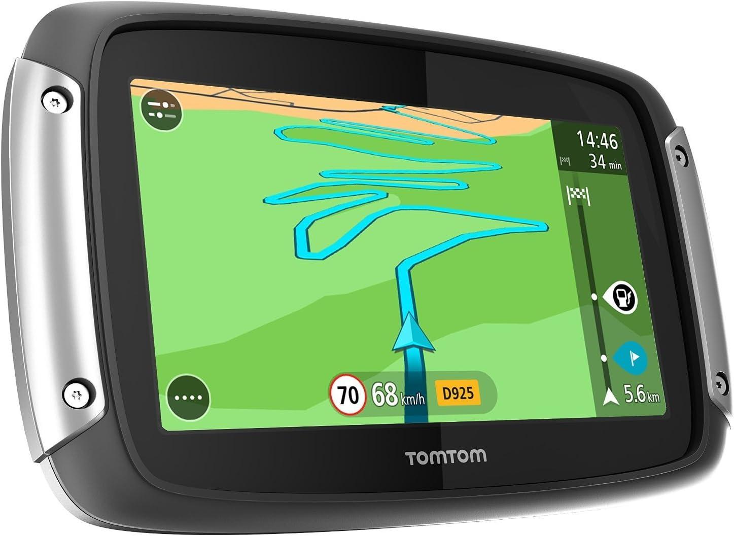 TomTom Rider 400 Premium Pack - GPS para coches de 4.3