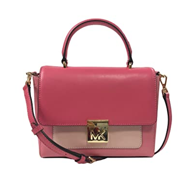 c665622ebf91ca Amazon.com: Michael Kors Mindy MD CONV TH Satchel Pink (35T8GTZS6T): Shoes