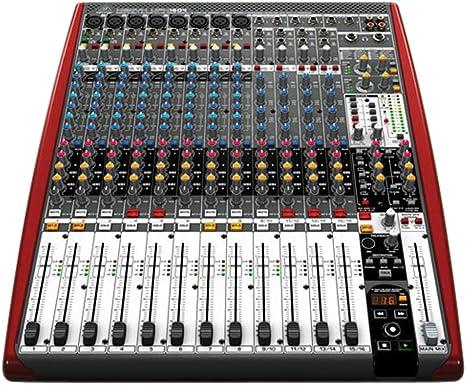 Behringer UFX1604 - Mezclador para directo ufx-1604 und.: Amazon ...