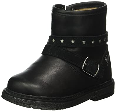 Geox B Glimmer A, Chaussures Marche Bébé Fille, Schwarz (BLACKC9999), 26 EU