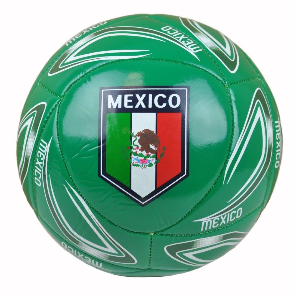 メキシコ国立サッカーボールPelota Futbol Calcio FIFAフルサイズ5 Rhinoxグループ B00LCFHHXK