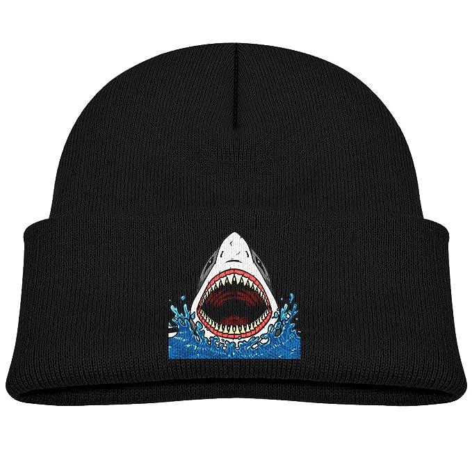 Fish Shark Kids Knitted Beanies Hat Winter Cap Warm Hat