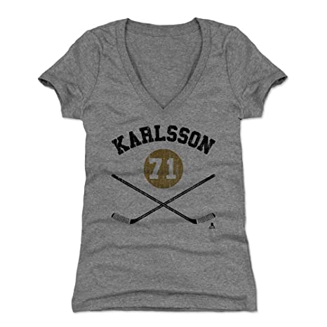 huge selection of f6732 eccec Amazon.com : William Karlsson Women's Shirt - Vegas Hockey ...