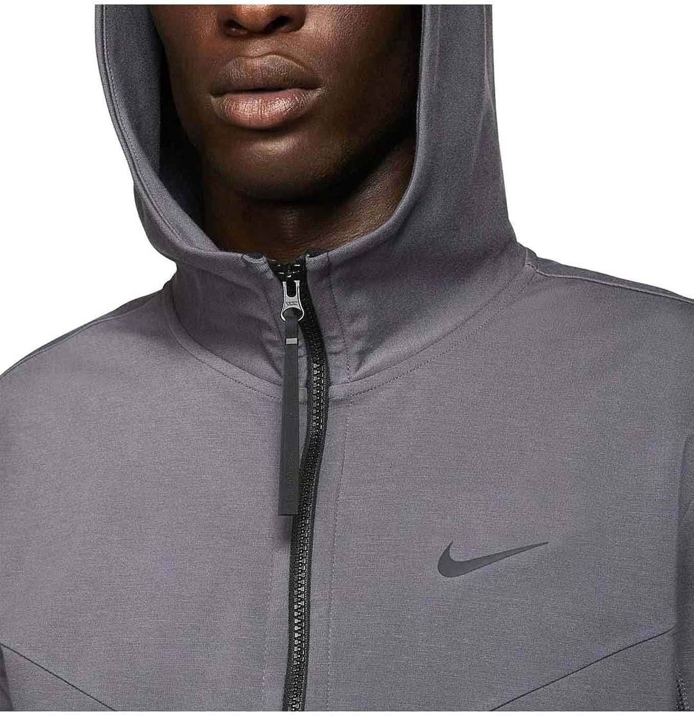 Nike Chaqueta Sportswear Tech Pack Dark Grey/Black Small Gris: Amazon.es: Ropa y accesorios