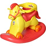 Archana NHR Super 2 In 1 Horse Rocker 'N' Ride On (Red)