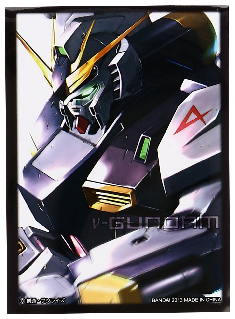 Mobile Suit Gundam Char's Counter RX-93 Nu Character Card Sleeves Anime Game Bandai Carddass Masters MTG TCG CCG Magic