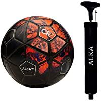 ALKA Combo CR Seven RED Football with AIR Pump