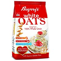 Bagrry's White Oats, 1kg with Free Bagrry's White Oats, 200g