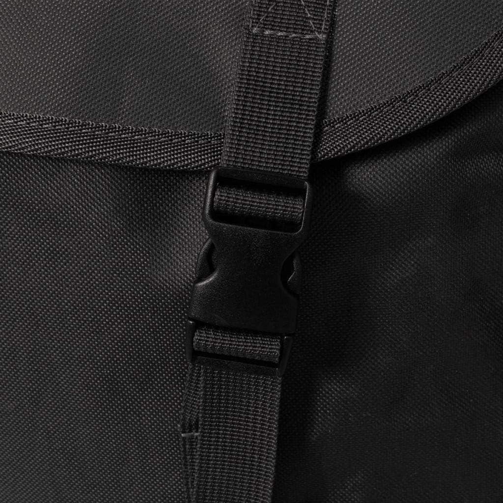 LITEBUF Sac /à Dos en Style Militaire 40 L Noir