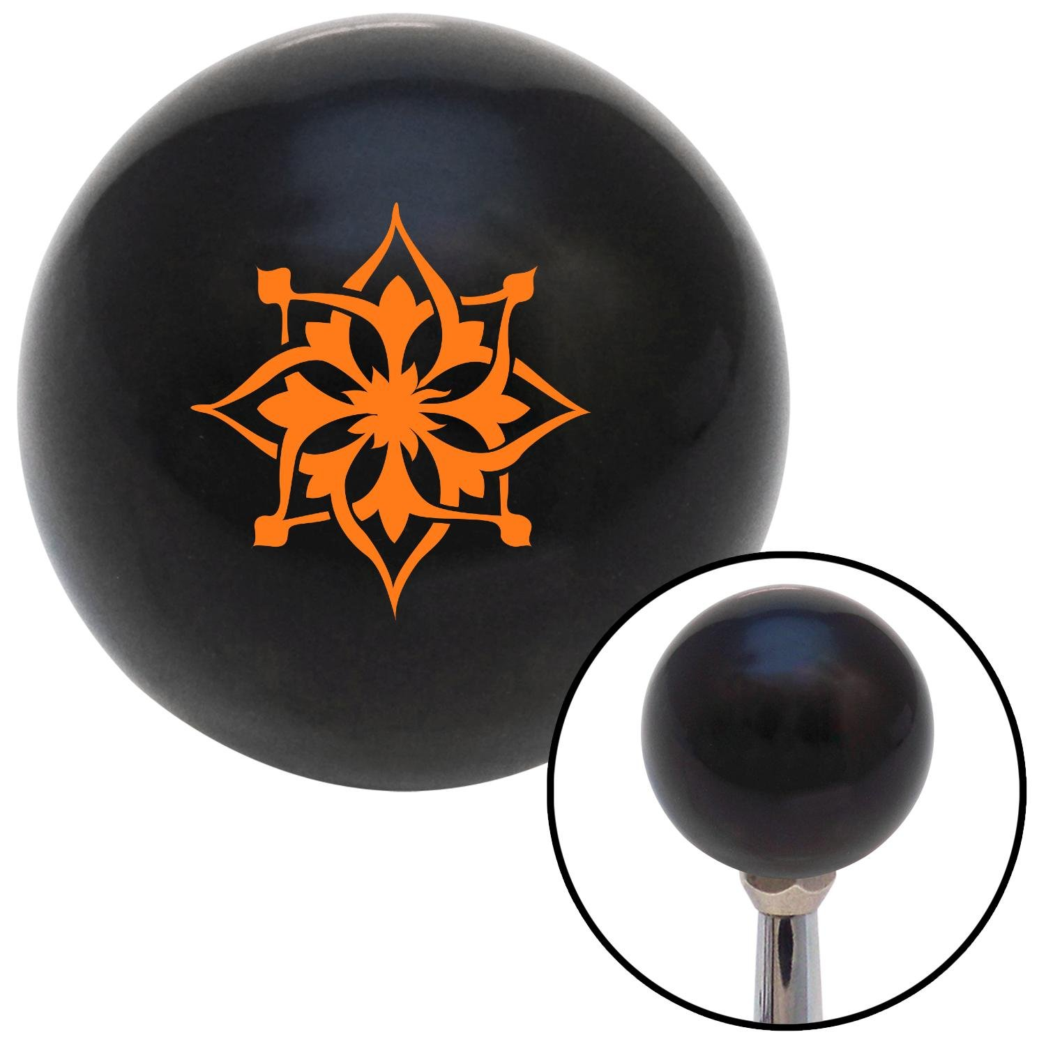 White Master Sergeant First Sergeant American Shifter 146360 Black Retro Shift Knob with M16 x 1.5 Insert