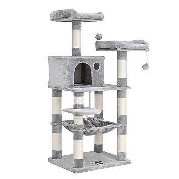 Amazon.com: FEANDREA - Árbol para gatos de 58 pulgadas con ...