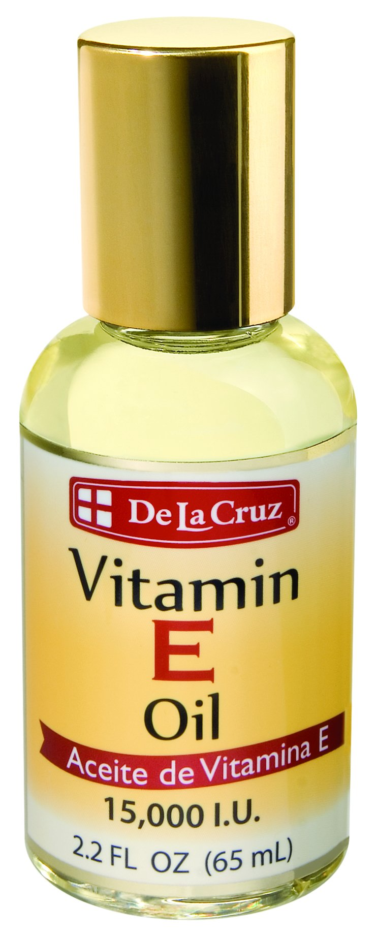 De La Cruz Vitamin E Oil 15,000 IU, No Preservatives, Artificial Colors or Fragrances