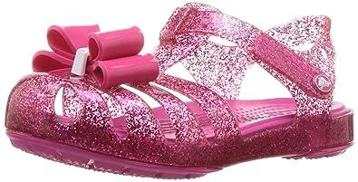 9f767241840 Crocs Girls  Isabella Bow Sandal K Flat