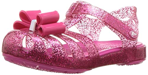 ad1ab316ab3ed7 Crocs Girls  Isabella Bow Sandal K Flat