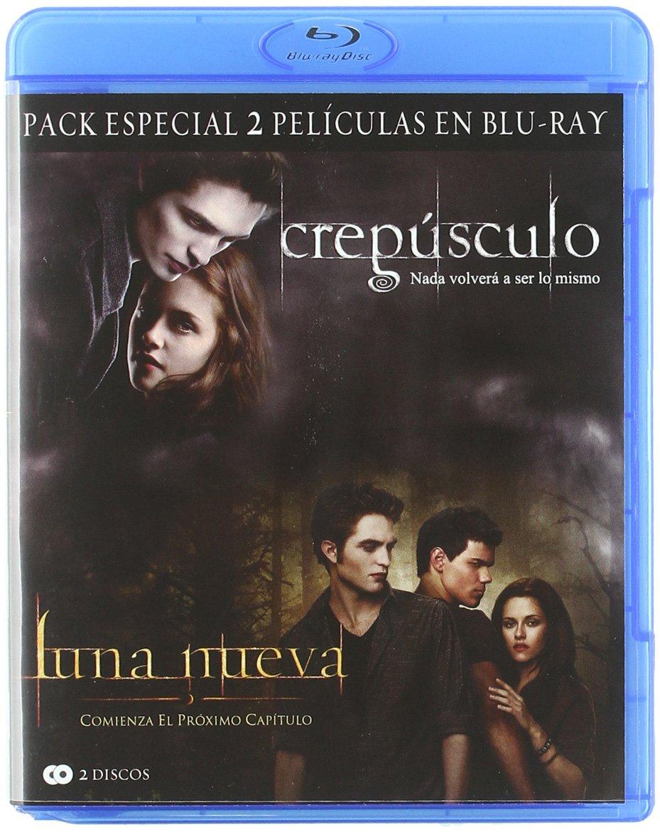 Crepúsculo + Luna nueva [Blu-ray]: Amazon.es: Kristen Stewart ...