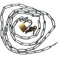 Cadena de acero con candado Set–Cadena robusta