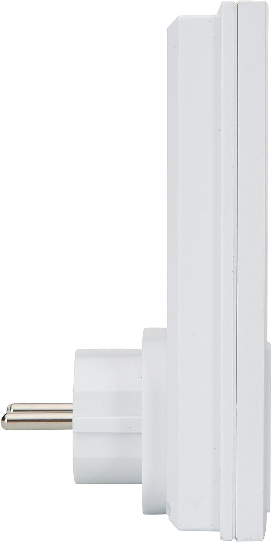 Pack de 2/ Prise int/égr/ée Kit de sonnette sans fil Byron DB432E Port/ée de 50 m