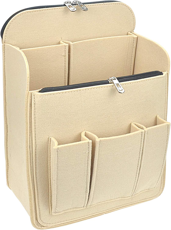 Purse Organizer Insert - Bag Handbag Tote Organizer (4 colors, 3 sizes)
