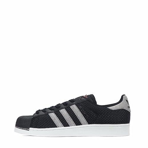 adidas Originals Superstar, Sneaker Uomo Black/White 44 EU, Originals Superstar