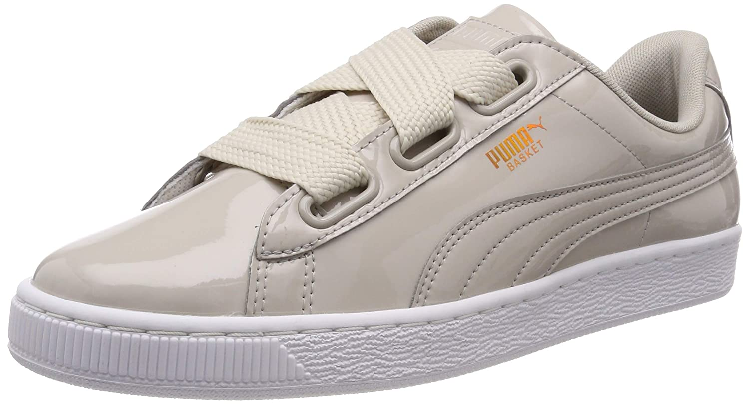 | PUMA Women's Basket Heart Patent WN's Low Top