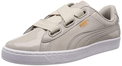 f78cd1370ccdc Puma Basket Heart Patent Wn s Sneakers Basses Femme