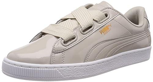 Puma Basket Heart Grau wr