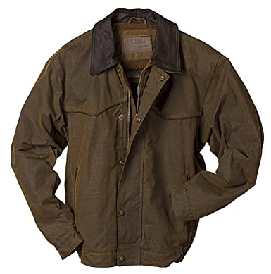AUSTRALIAN OUTBACK Western Drover Duster OILCLOTH COAT, Size XL ...