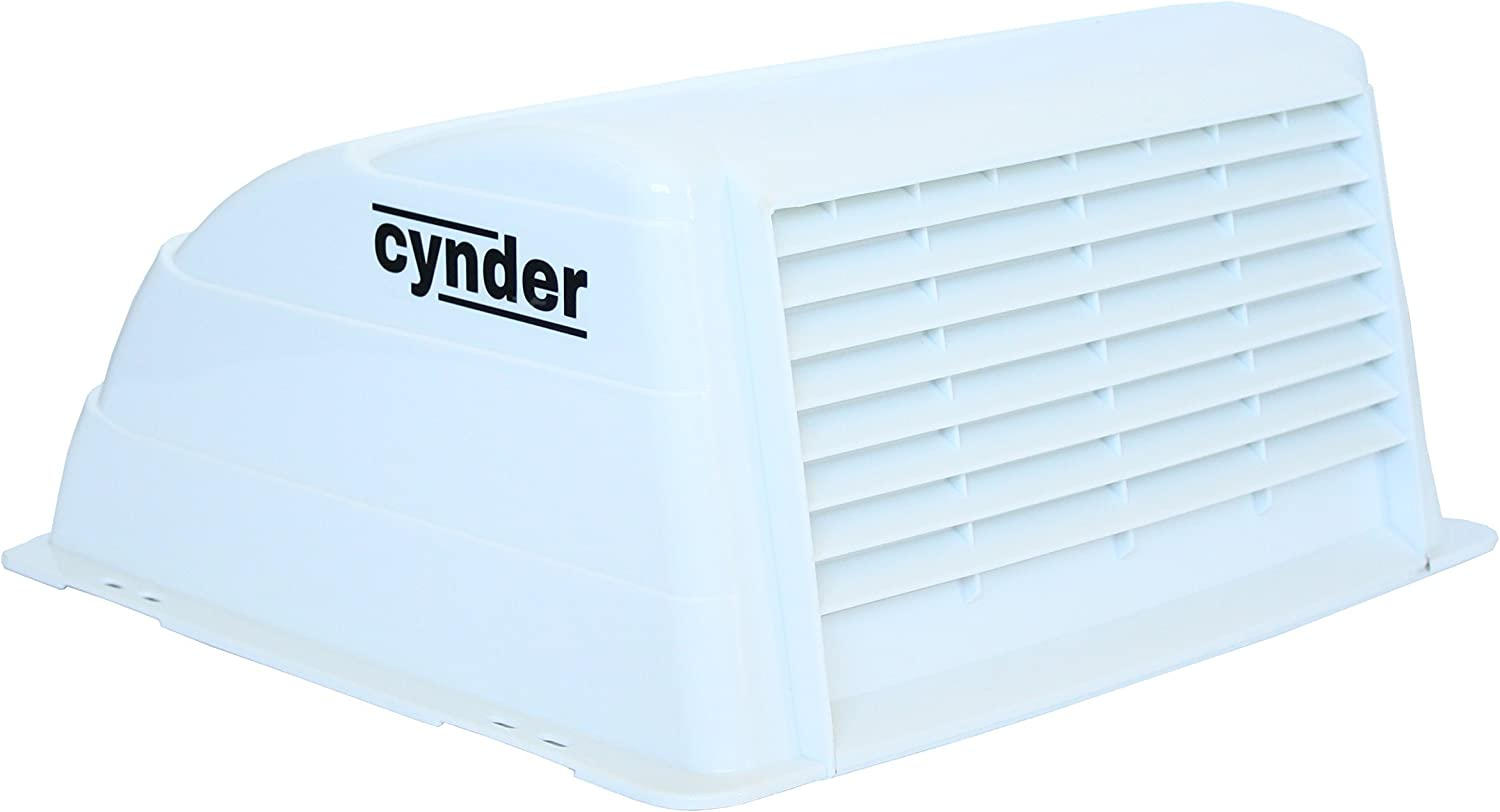 Cynder 2025 Universal Roof Vent Cover Rv Camper Trailer Rv Motorhome, White