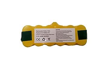 Tiendade - Batería 3000 mAh para Roomba serie 500, 600, 700, 800: Amazon.es: Hogar