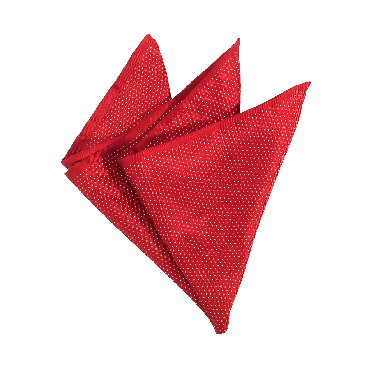 großes Sortiment unschlagbarer Preis Designermode OLYMP Einstecktuch rot mit feinen Punkten, Einheitsgroesse ...