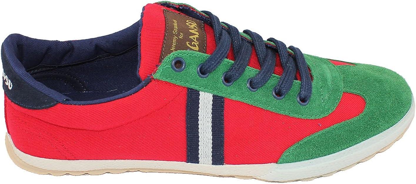 El Ganso Match Canvas Ribbon Red (44): Amazon.es: Zapatos y ...