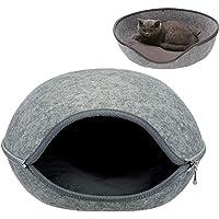 tqgold Katzenhöhle & Hundebett,Katzenbett Drinnen Waschbar Kuschelhöhle für Kleine Hunde & Katzen