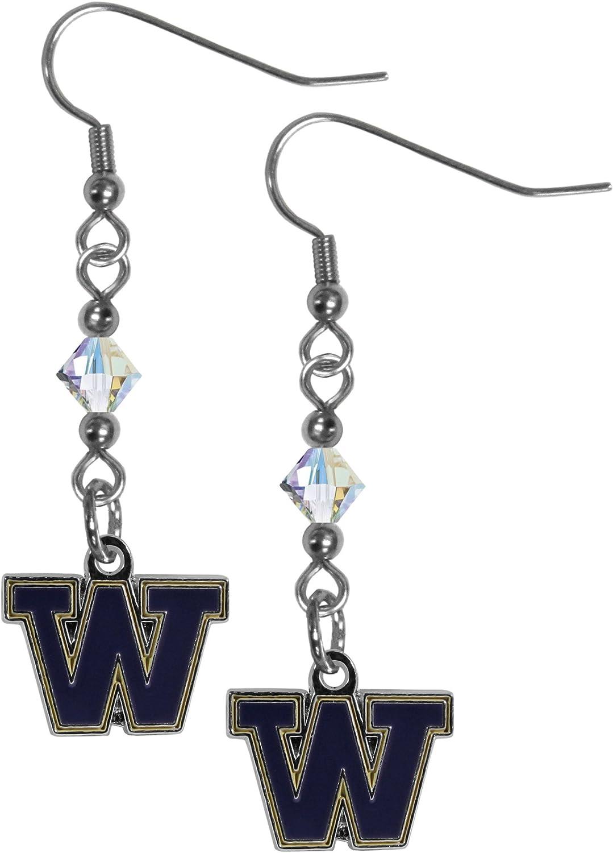 Siskiyou NCAA Crystal Dangle Earrings