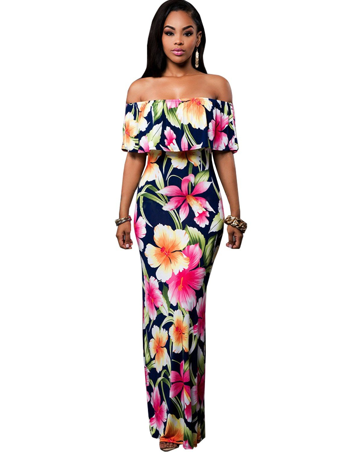 Maxi Dresses For Wedding Guest: Amazon.co.uk