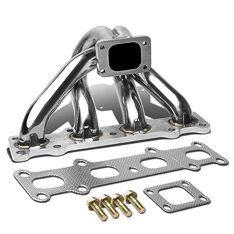 Mazda Miata MX5 1,8 acero inoxidable T25/T28 montaje superior Turbo colector