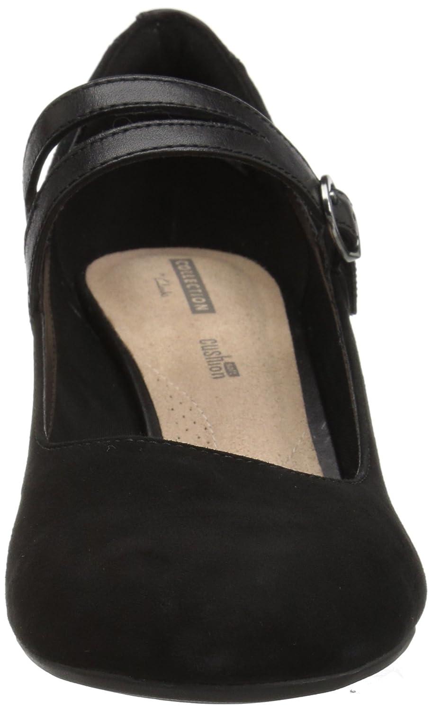 CLARKS Women's Desert Chukka Boot B078G9TC8C 065 M US|Black Suede