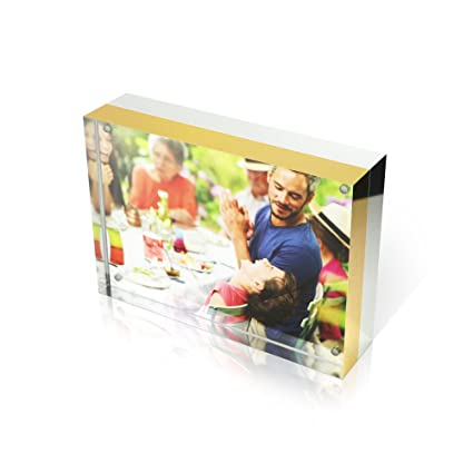 Amazon.com - Premium Shoppe 4X6 Double Sided Picture Frame ...