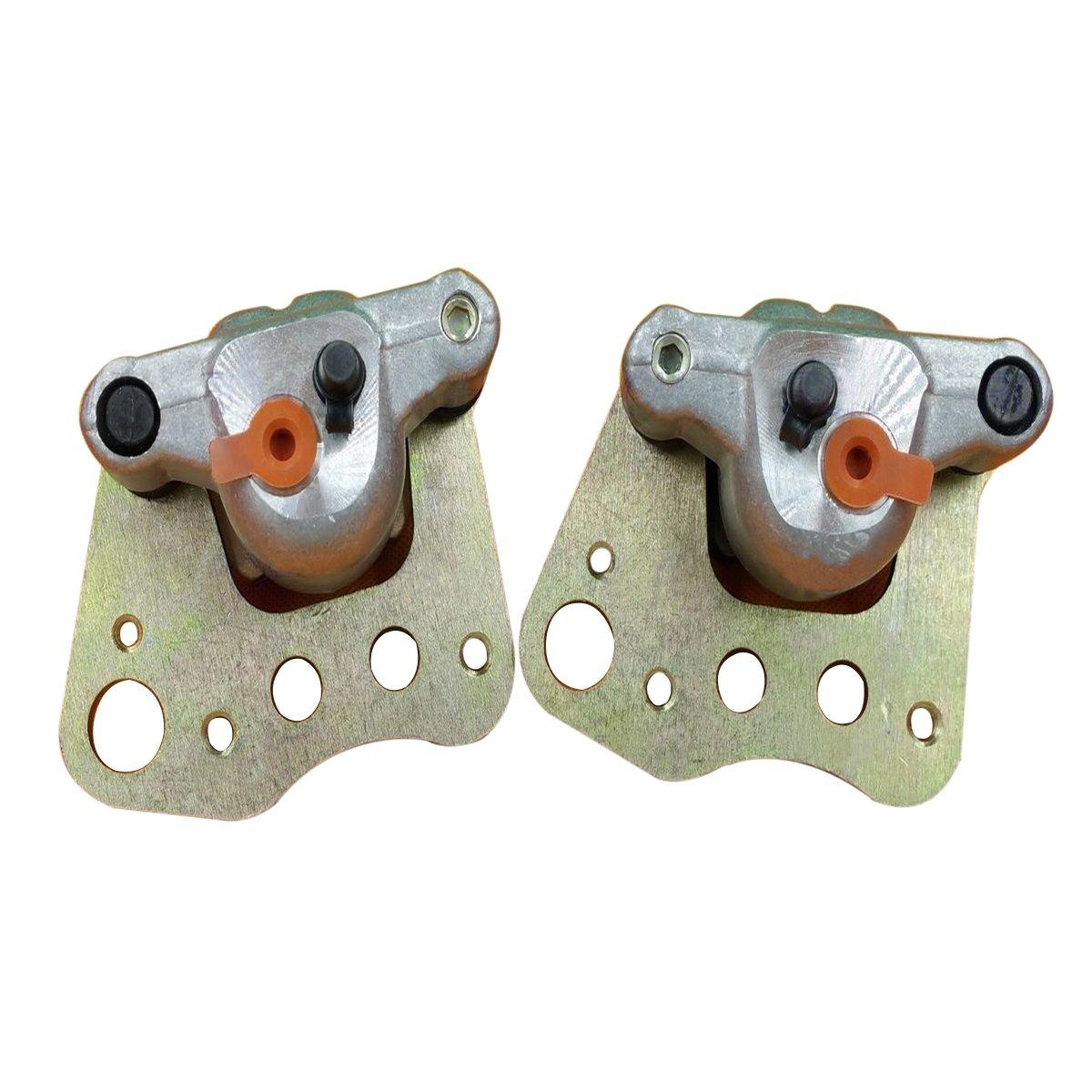 Triumilynn New Front Left & Right Brake Caliper for Polaris Sportsman 400 450 500 600 700 800 HO EFI 05-07 with Pads TENGSHNEG