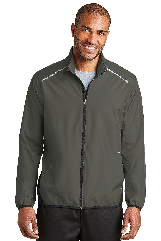 J345 Port Authority Zephyr Reflective Hit Full-Zip Jacket