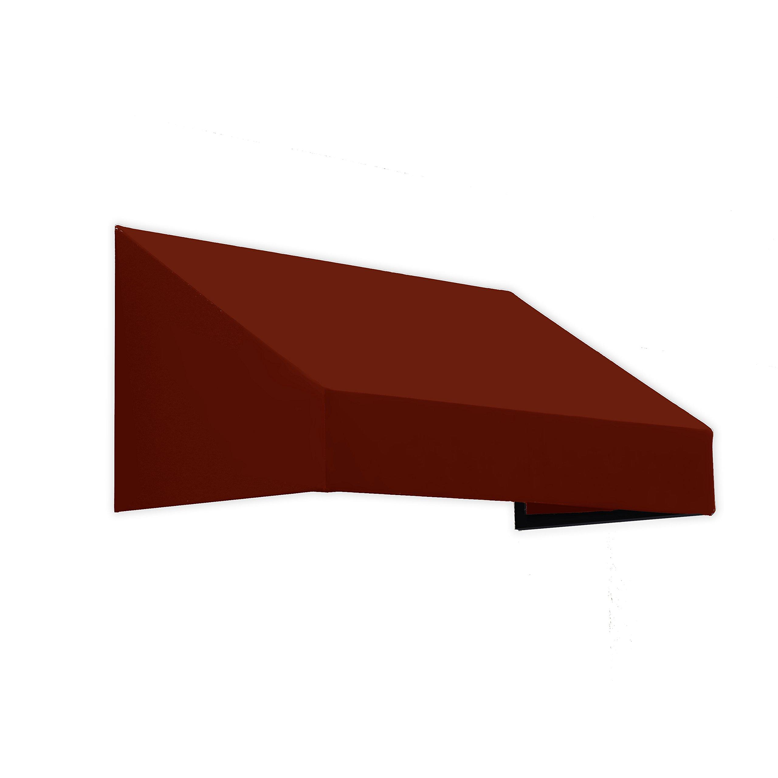 Awntech 4-Feet New Yorker Window/Entry Awning, 18-Inch Height by 36-Inch Diameter, Terra Cotta