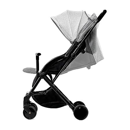 Kinderkraft Silla de paseo de bebe Pilot Cochecito ultraligera 5, 8 kg compacto plegado Innovador con una mano fácil de transporte con accesorios Cup ...