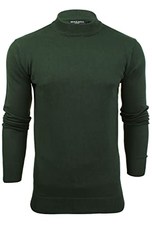 cf3bc9cdcc69a8 Mens Turtle Neck Jumper by Brave Soul: Amazon.co.uk: Clothing