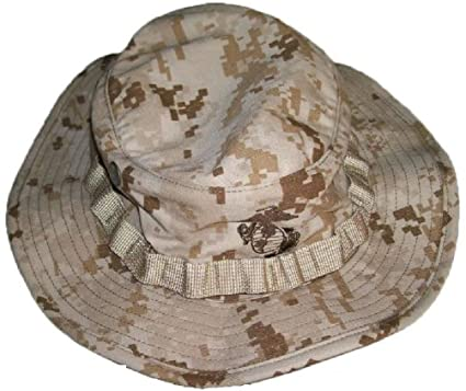 Amazon.com  Marine Marpat Tactical Desert Digital Camouflage Boonie Hat   Clothing 56dc4c1c9