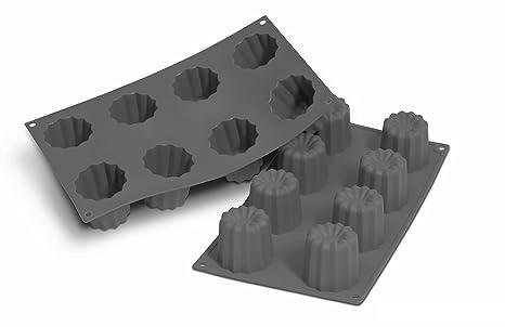 Patisse 19196 Molde de silicona para 8 CANELES BORDELAIS