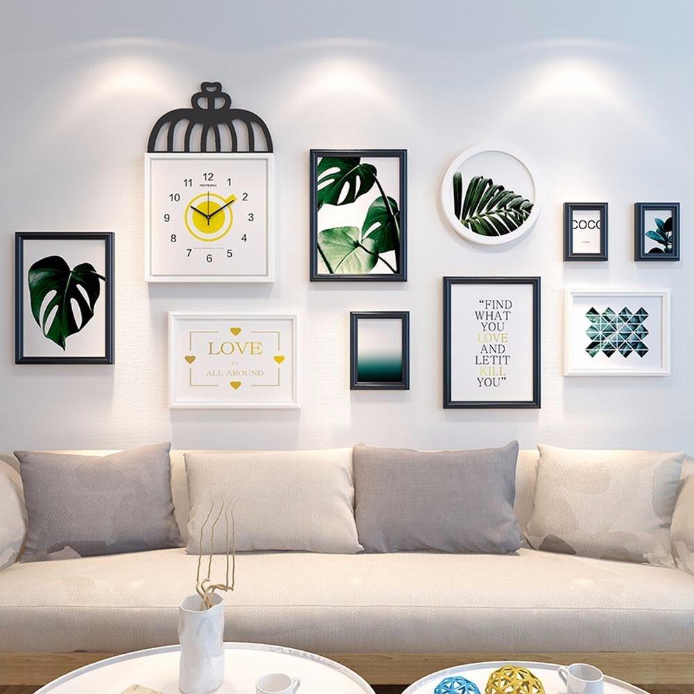 WUXK Einfache, moderne skandinavische Foto Wall verzierende Ideen ...